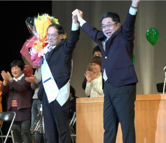 明るい神奈川県政をつくる会演説会開かれる