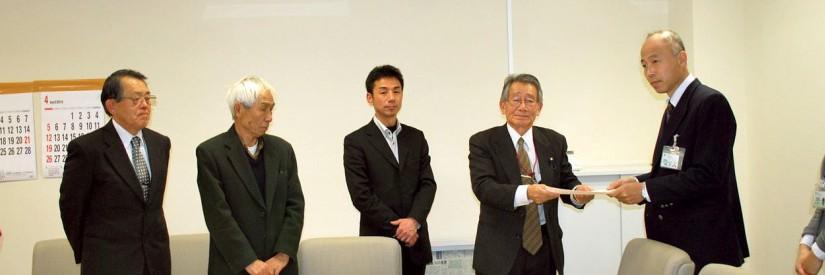 大島のキョン獣害 深刻党町議団 都に対策強化を要請