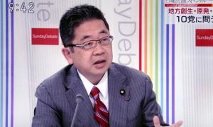 「戦争立法」の国会提出許されぬNHK討論で小池晃副委員長