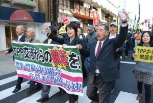 TPP撤退 岩手共同 消費者や生産者が集会