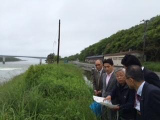 藤野衆議院議員とたけだ参院比例予定候補が新潟、長野で住民・地方議員と連携し、実態調査