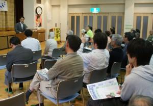 松本市・岡谷市で藤野保史衆院議員を招き「集い」