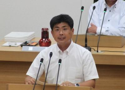 6月議会代表質問 太田県議