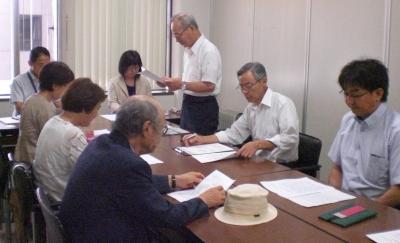 百田さんの講演会をめぐって、革新懇らが後援の取り消しを要望
