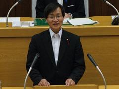 市長特別秘書を否決〜代表討論に石川議員