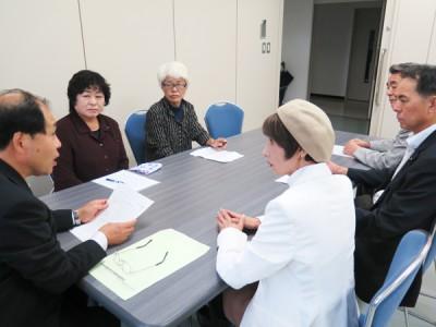 豪雨災害 被災者支援の強化訴え/党埼玉県議団 県に申し入れ