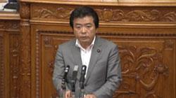中川議運委員長解任決議 賛成討論