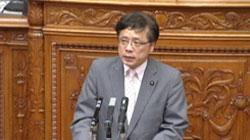 山崎参院議長不信任決議案