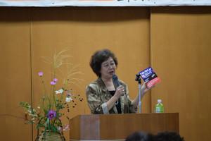 山梨県母親大会開く 池田恵理子さん「慰安婦」問題で講演
