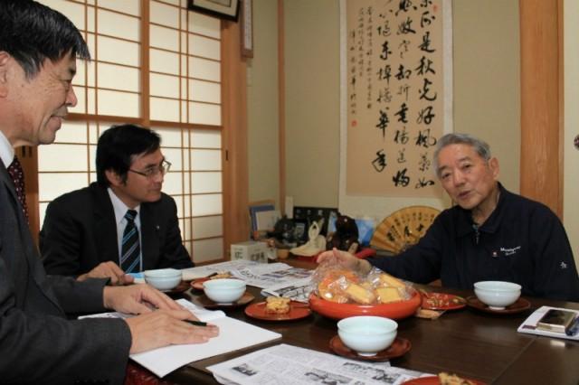 野党の共闘で政権倒して 前阿見町長が共産党県委員会に要望