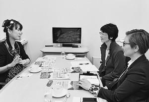 「国民連合政府を」池内さおり・紙智子両議員が雨宮処凛さんと懇談