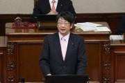 柴田議員が天守閣復元と学童保育について議案外質問