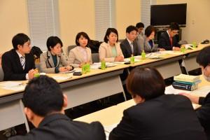 党東北ブロック事務所88項目で省庁要請 吉田恭子さんが参加