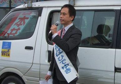 【4月9日付】米子市長選に「まちづくりの会」福住氏擁立-国や県の押し付けにノーと言える候補を