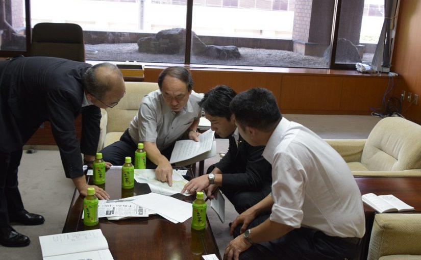 藤野衆議院議員、北朝鮮漁船問題で漁業関係者と懇談