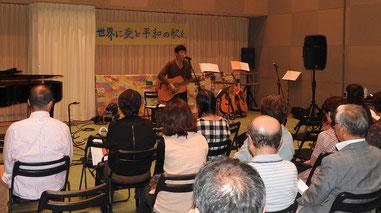 【10月22日付】倉吉市で9条バンド平和コンサート 憲法守ろう呼びかけ