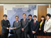 リニア中央新幹線の談合事件で申し入れ(2018年1月15日)