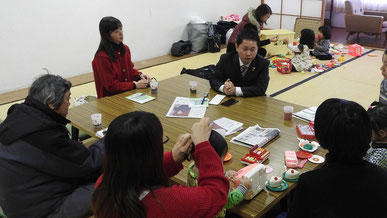 【2月4日付】境港市で大平前衆院議員が集い 安田・長尾両候補の当選を