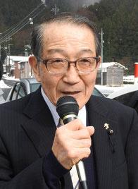 【2月4日付】若桜町議選で日本共産党 中尾まさあき候補が奮闘