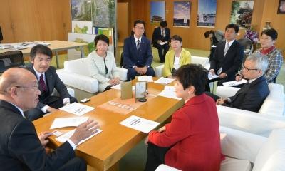 日本共産党奈良県委員会が県に要望書提出